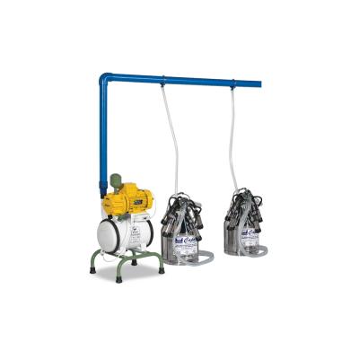 Dört Üniteli İki Kovalı Yarı Sabit Süt Sağım Makinesi-C024