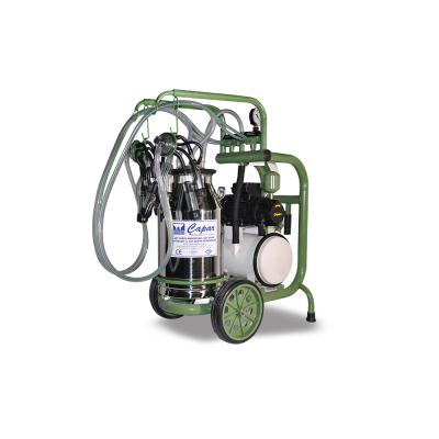 İki Üniteli Tek Kova Süt Sağım Makinesi-CMS