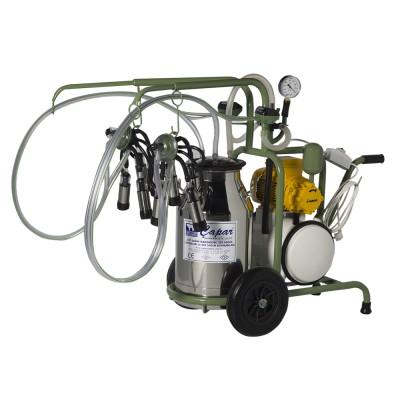 İki Üniteli Tek Kovalı Süt Sağım Makinesi-C002